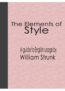 The Elements Of Style Free Download Pdf Ebook